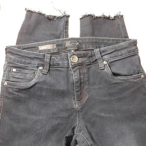 Kut from the Kloth Diana Skinny Raw Edge Jeans